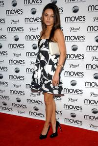 Mila Kunis at the New York Moves Art and Design Issue launch party.