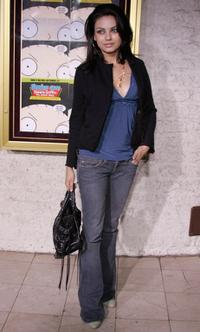 Mila Kunis at the after party for the Fox primetime program announcements for 2004-2005.