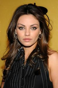 Mila Kunis at the MTV's Total Request Live.