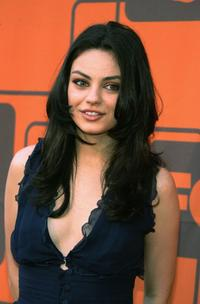 Mila Kunis at the wrap party of