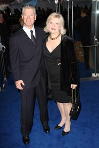 Stephen Lang and Guest at the London premiere of