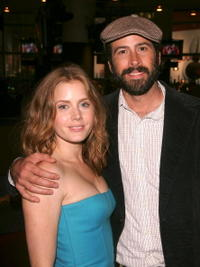 Actors Amy Adams and Jason Lee at the after party of the N.Y. premiere of