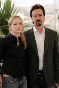 Evan Rachel Wood and Edward Norton at the photocall of