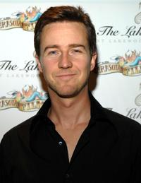 Edward Norton at The Reel Experience during the Sarasota Film Festival.