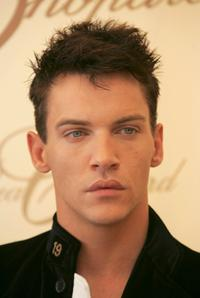 Jonathan Rhys-Meyers at the Chopard trophy winner press conference.