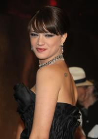Asia Argento at the Black Carpet for