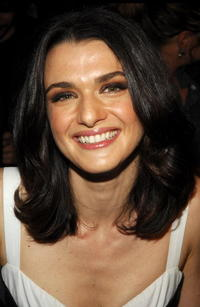 Rachel Weisz at the Narciso Rodriguez 2008 Fashion Show during the Mercedes-Benz Fashion Week Spring 2008 in N.Y.