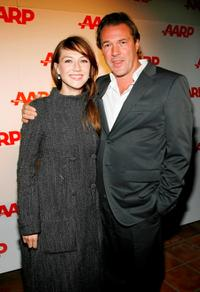 Carice Van Houten and Sebastian Koch at the Sixth Annual Movies For Grownups Awards.