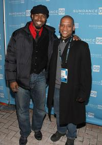 Michael Jai White and Director Scott Sanders at the premiere of