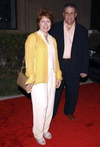 Christine Estabrook and husband Vic Polizos at the Desperate Housewives Premiere Party.