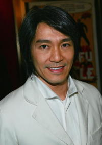 Stephen Chow at the N.Y. premiere of