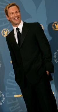 Aaron Eckhart at the 59th annual Directors Guild Of America Awards.