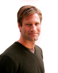 Aaron Eckhart in a Toronto portrait for