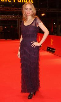 Nina Hoss at the 58th Berlinale Film Festival.