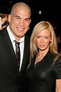 Tito Ortiz and Jenna Jameson at the screening of