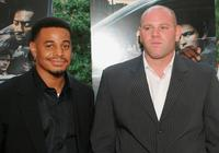 Corey Parker-Robinson and Domenick Lombardozzi at the premiere of