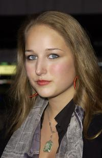 Leelee Sobieski at the special screening of