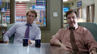 Will Ferrell as Cam Brady and Jason Sudeikis as Mitch in