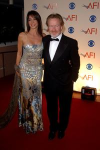 Giannina Facio and Ridley Scott at the American Film Institutes AFI Awards 2001.