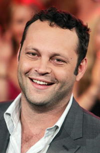 Vince Vaughn at MTV's Total Request Live in New York City.
