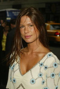 Rhona Mitra at the ABC Network All-Star Party in N.Y.