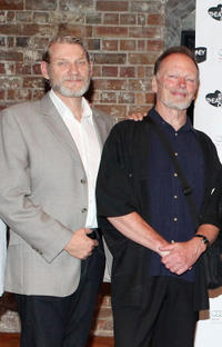 Anthony Phelan and John Bell at the Opening Night of