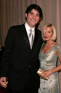 Goran Visnjic and Guest at the Miramax 2005 Golden Globes After Party.