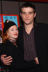 Goran Visnjic and Ivana girlfriend at the premiere of the movie