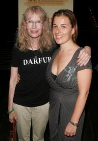 Mia Farrow and Winter Miller at the after party for a special reading of