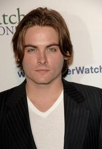 Kevin Zegers at the AmberWatch Foundation (AWF) Launch party.