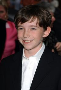Liam Aiken at the premiere of