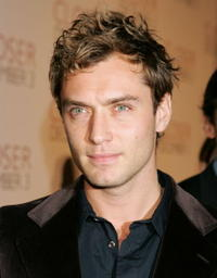 Jude Law at the L.A. premiere of