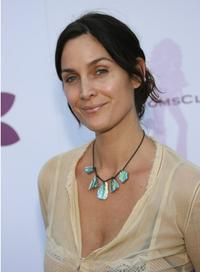Carrie Ann Moss at the Hollywood Hot Moms Soiree benefiting the Step Up Women's Network.