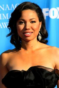 Jurnee Smollett at the 39th NAACP Image Awards.