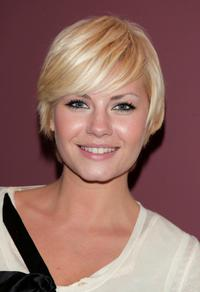Elisha Cuthbert at the premiere of