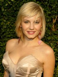 Elisha Cuthbert at the opening of the Stella McCartney store.