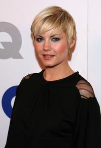 Elisha Cuthbert at the GQ 2007 Men Of The Year celebration.