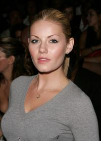 Elisha Cuthbert at the Marc Jacobs 2008 Fashion Show during the Mercedes-Benz Fashion Week Spring 2008.