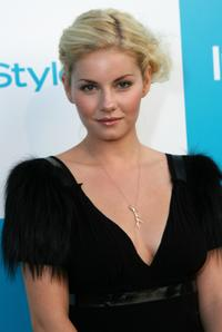 Elisha Cuthbert at the 7th annual InStyle Magazine summer soiree.
