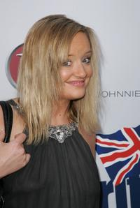 Lucy Davis at the launch party of BritWeek.