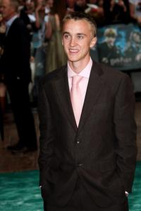 Tom Felton at the UK premiere of