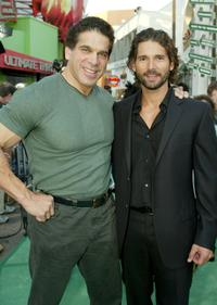 Lou Ferrigno and Eric Bana at the world premiere of