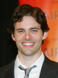 James Marsden at a Las Vegas photocall for