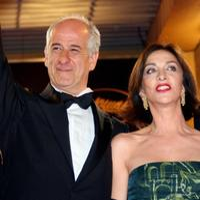 Toni Servillo and Anna Bonaiuto at the screening of