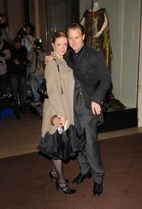 Samuel West and Laura Wade at the London Evening Standard Theatre Awards.
