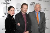 Ralph Fiennes, Lara Flynn Boyle and Donald Sutherland At The 5th Annual Tribeca Film Festival press conference Of