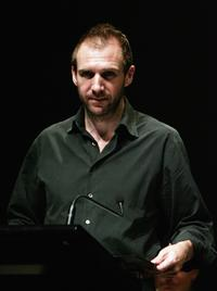 Ralph Fiennes at the Sydney Festival 2007 Readings of Beckett Poetry & Prose.