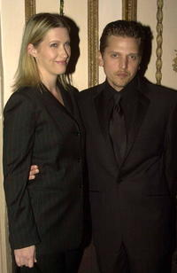 Barry Pepper and wife Cindy at the Directors Guild of America Awards.