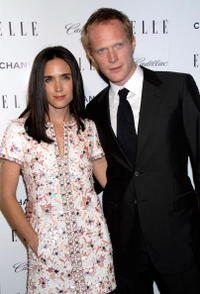 Paul Bettany and Jennifer Connelly at the Elle's 14th Annual Women in Hollywood party.
