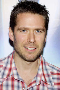 Alexis Denisof at the WB Network's 2003 Winter party in California.